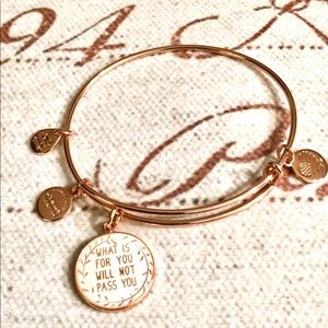 What's For You Will Never Pass You Charm Bracelet